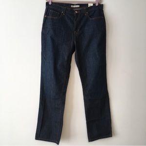 NWT Tommy Hilfiger dark wash boyfriend jeans 14